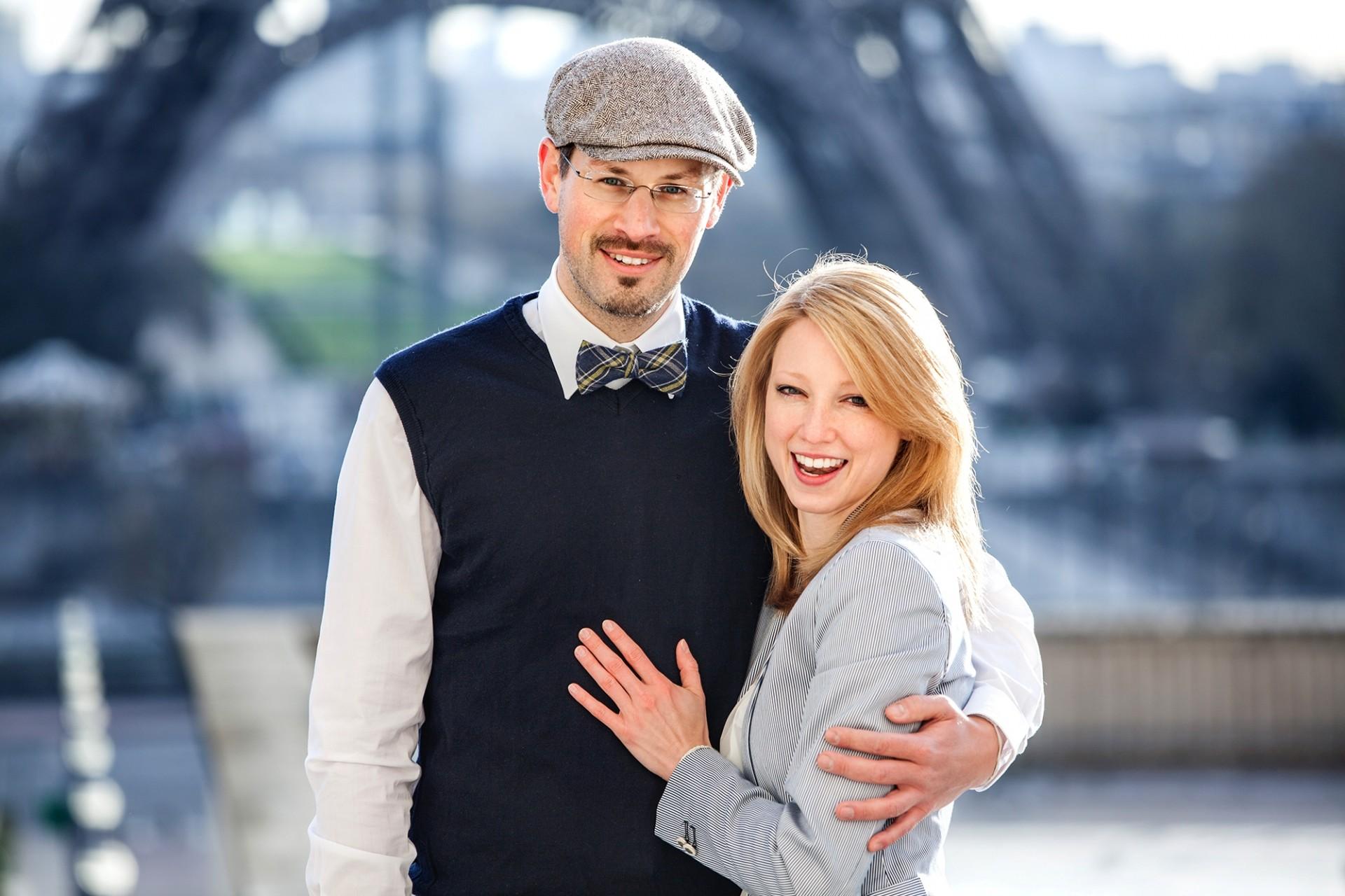 Paarshooting am Eiffelturm