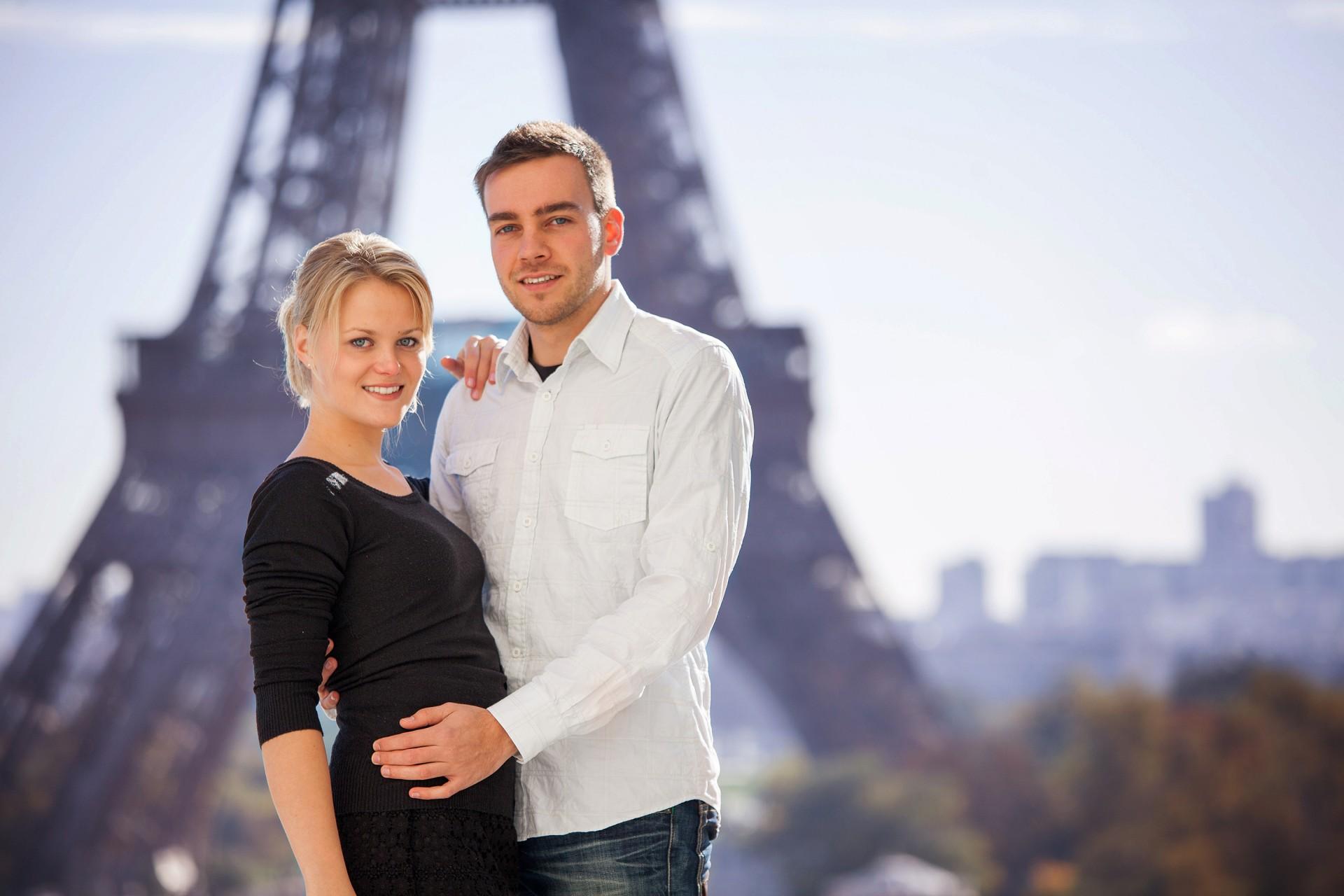Paarfotograf in Paris für verliebte