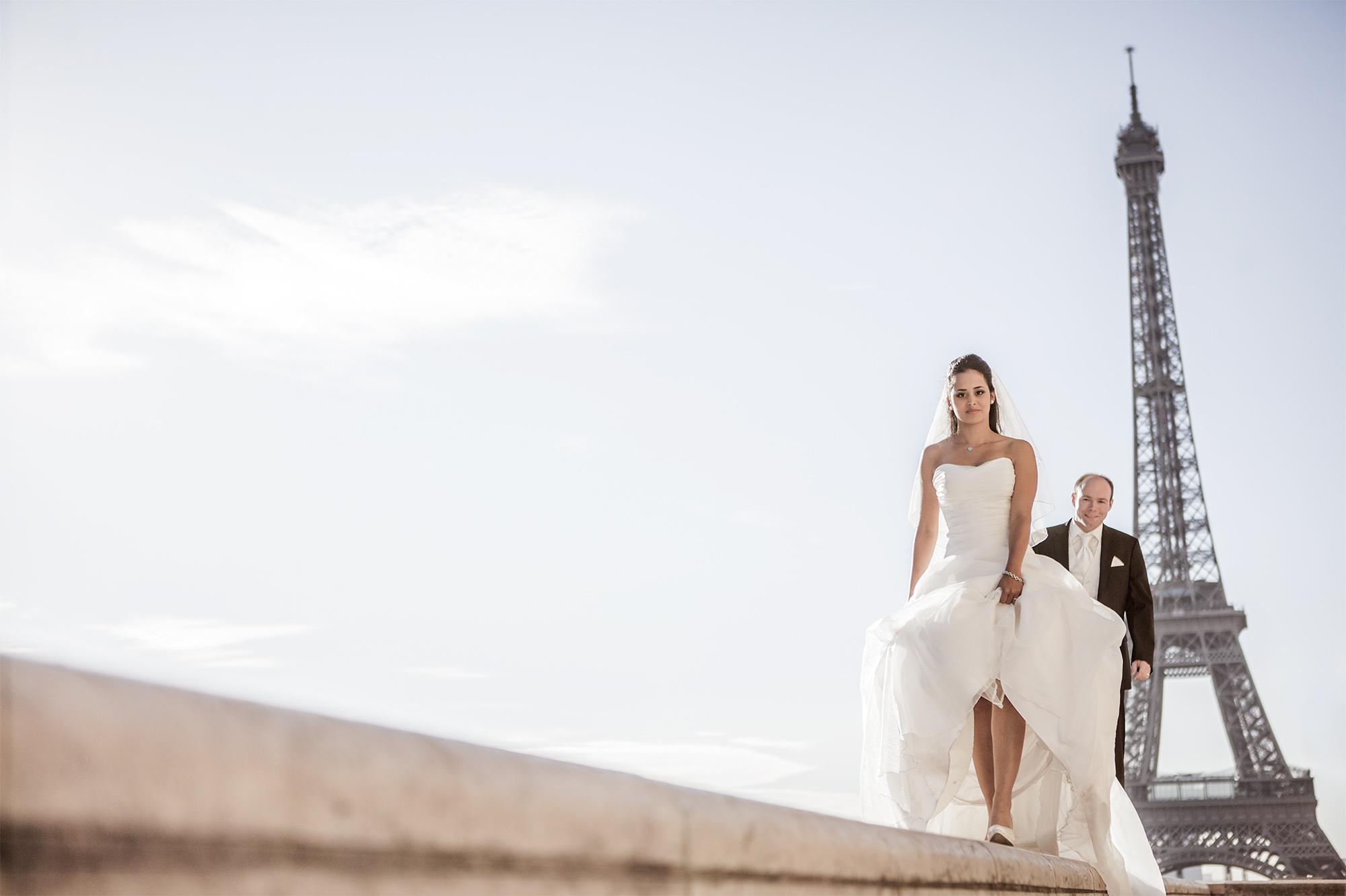 Buche deinen Hochzeitsfotografen in Paris