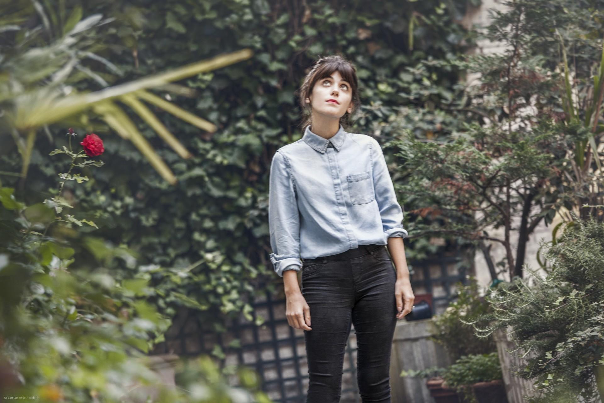 Katie Melua Modeshooting Fotograf Paris