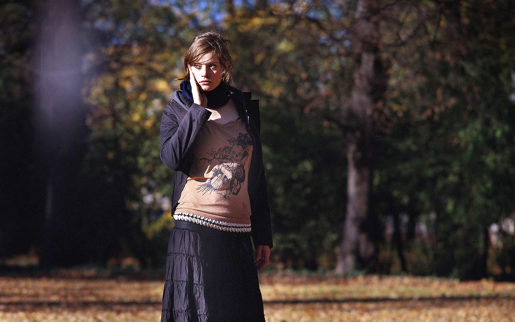 Herbstmode Fotoshooting in Bordeaux