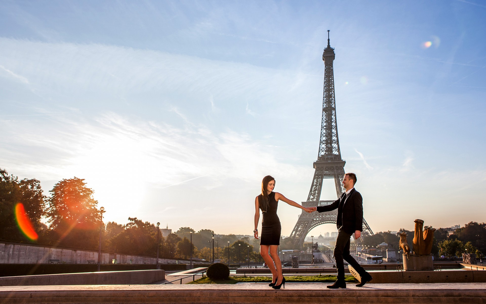Luxus Mode Fotoshooting Paris