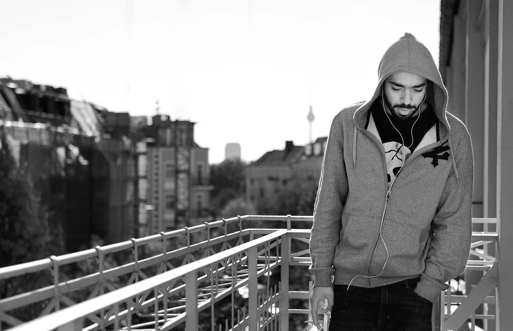 Modefotograf Paris - Shooting für deutsches Streetware Mode Label