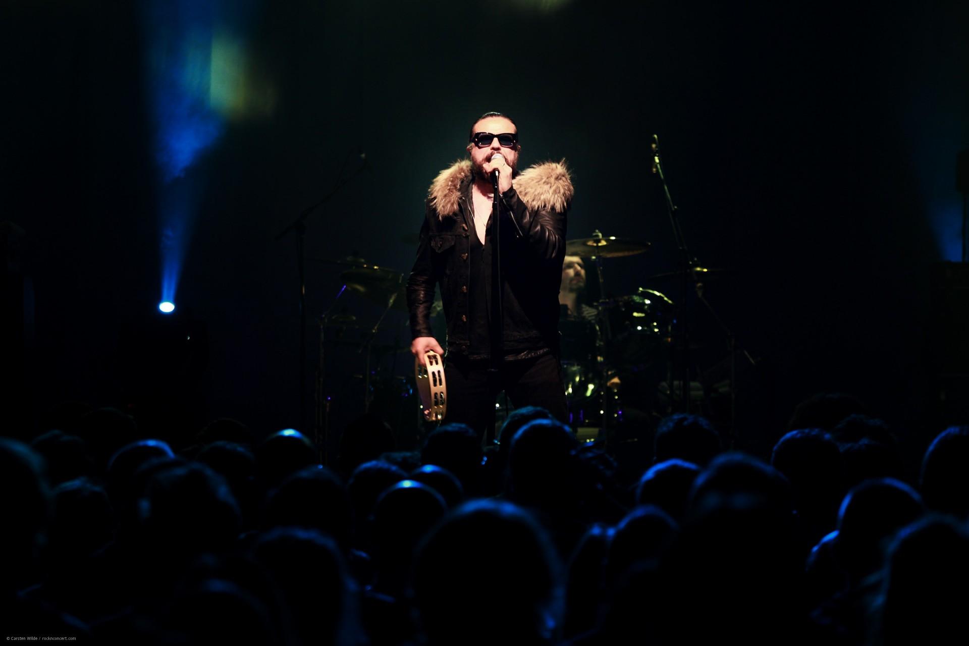 The Cult - Konzertshooting mir dem Sänger Ian Astbury