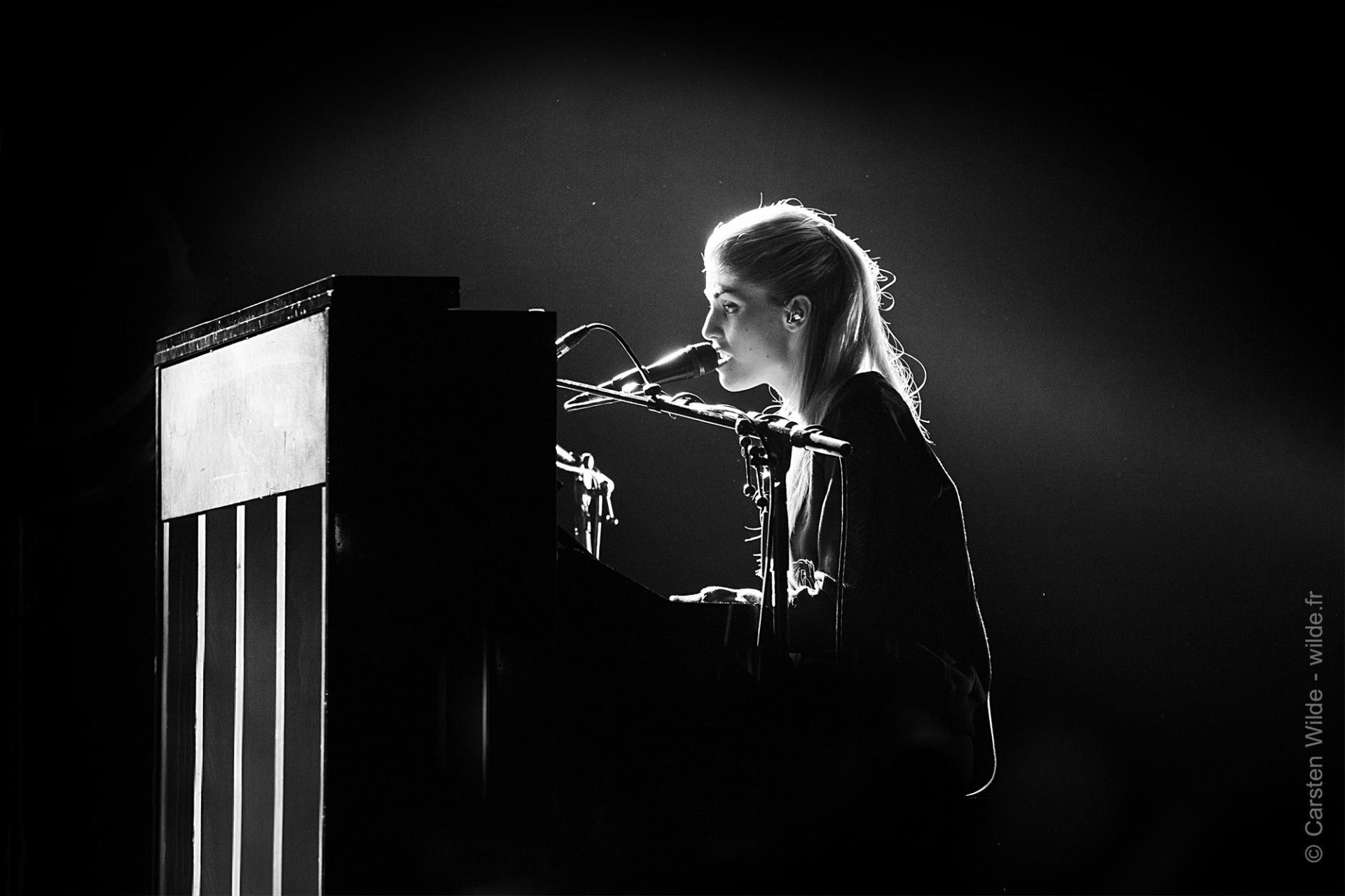 Hannah Reid - Sängerin der Band London Grammar