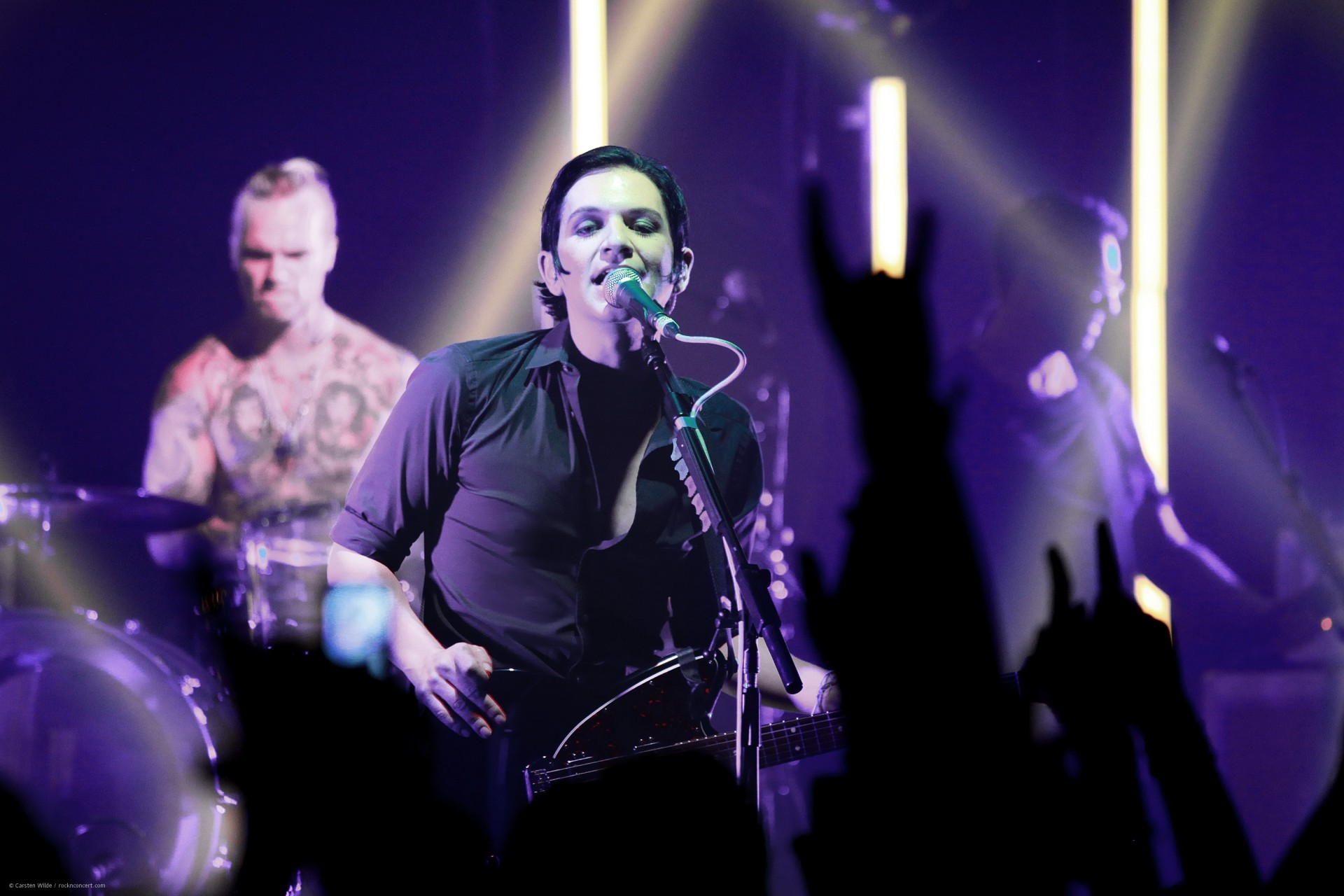Placebo - privates Konzert in Paris