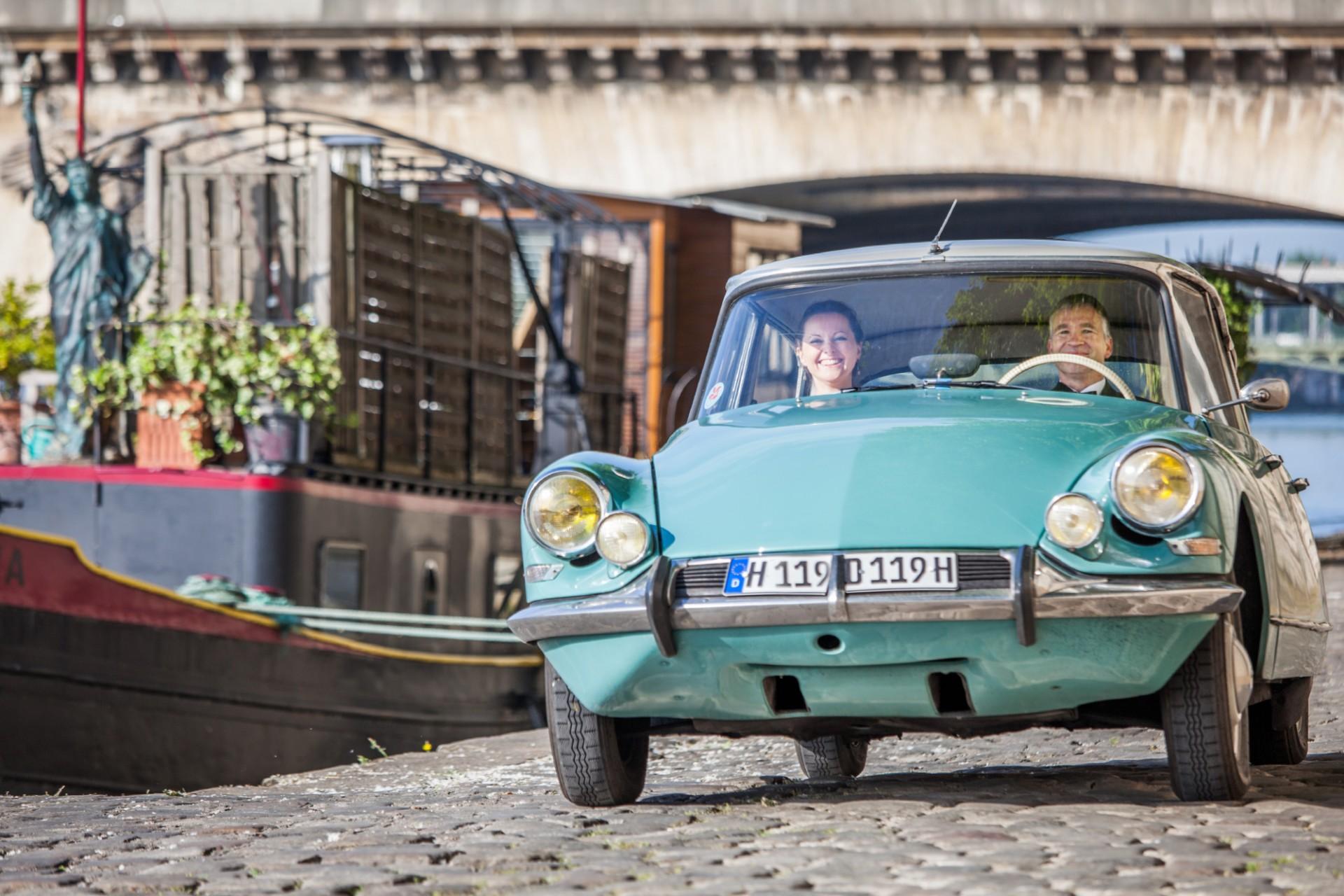 werbefotograf paris auto Citroën DS