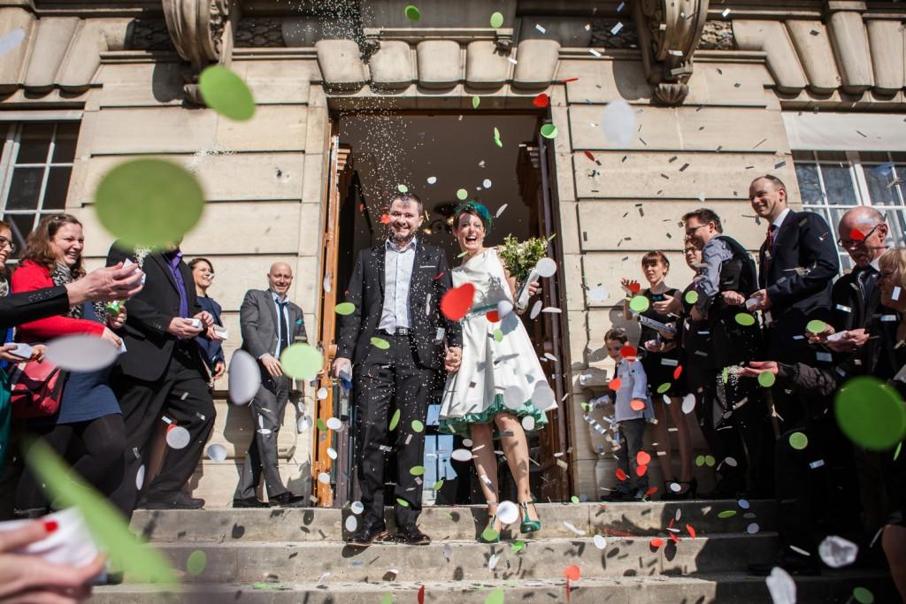 Hochzeits fotograf Standesamt Paris