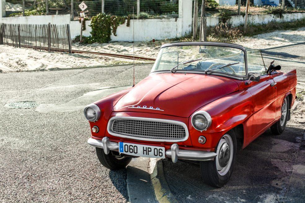 Automobilfotograf in Frankreich
