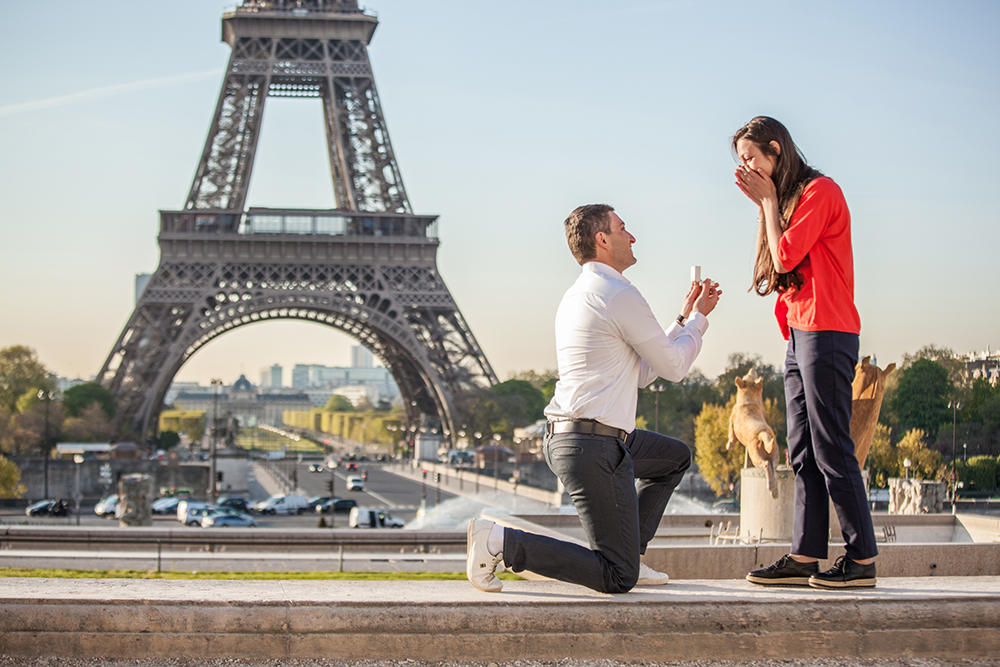 heiratsantrag paris