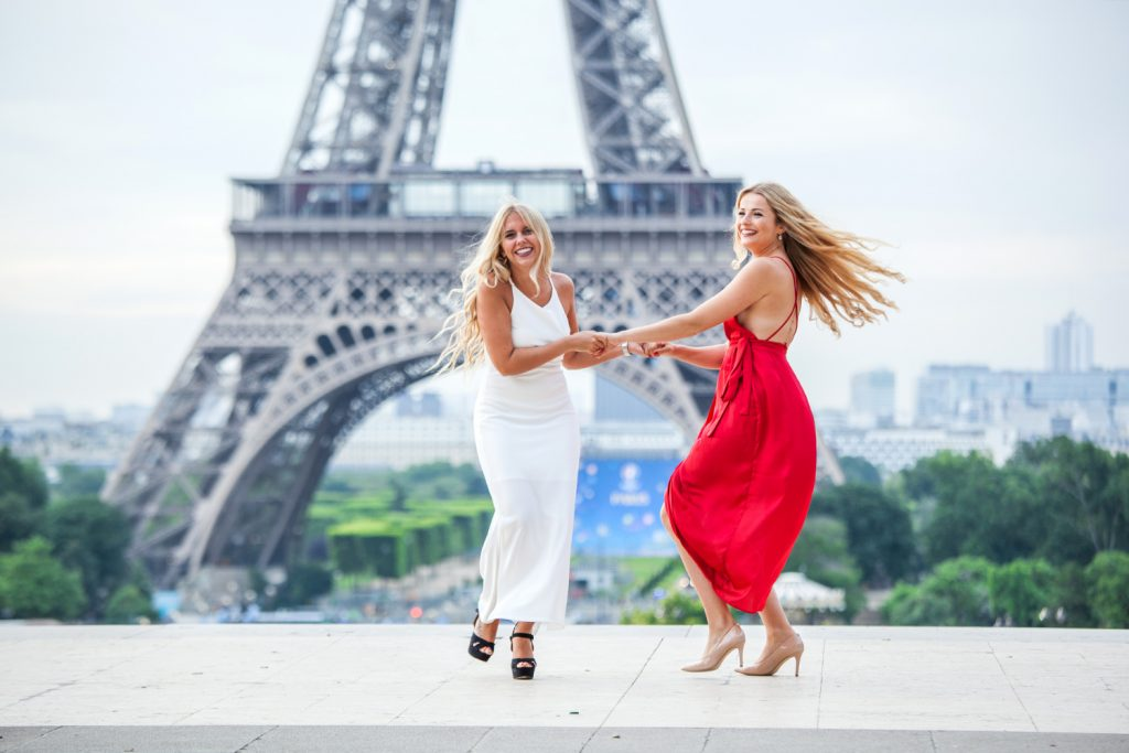 fotoshooting fuer freundinnen in paris
